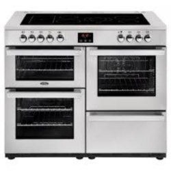 Belling 110EPROFSTA Cookcentre 100cm Electric Stainless Range cooker