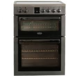 Belling BFSE60TCBLK Twin Cavity 60cm Slot in Cooker Black