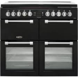 Leisure CC100F521K 100cm Dual fuel black Range cooker