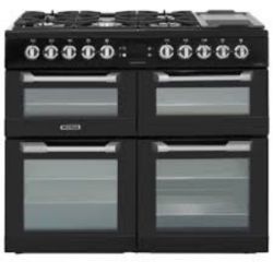 Leisure CS100F520K 1000cm Dual Fuel Triple Oven