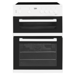 Beko KDC611W 60cm Double oven White