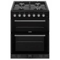 Simfer SIM52LPGBL 50cm LPG Black twin cavity cooker