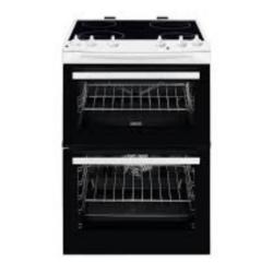 Zanussi ZCV66050WA 60cm Double oven White