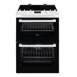 Zanussi ZCV66250WA 60cm Catalytic liners White Cooker