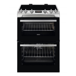 Zanussi ZCV66250XA 60cm Catalytic stainless cooker