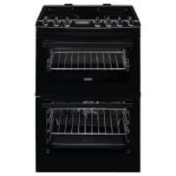 Zanussi ZCV69350BA 60cm Black Catalytic liners Steam
