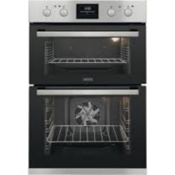 Zanussi ZOD35802XK Stainless Steel Double Oven